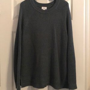 Old Navy Blue-Grey Long Sleeve Sweater Size Large